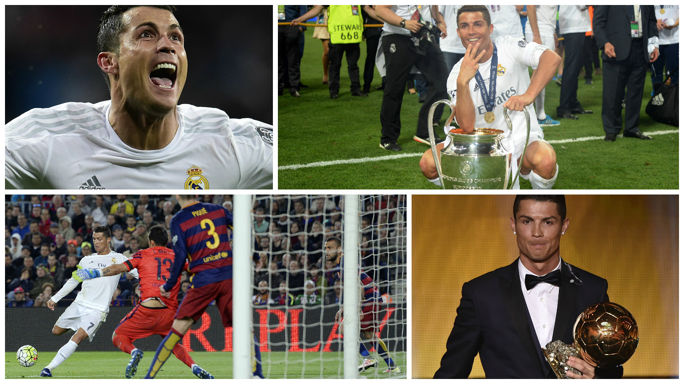Real madrid cinco momentos claves de cristiano ronaldo for Correo real madrid
