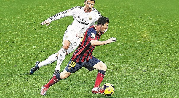 Barcelona y real madrid chocan hoy en partidazo diario for Correo real madrid