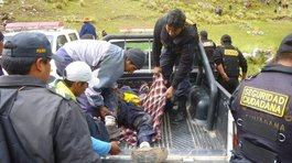 Cusco: motociclista grave tras accidente en el Valle Sagrado de Los Incas
