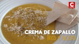 ​Rico y facilito: Crema de zapallo ideal para este intenso frío (VIDEO)
