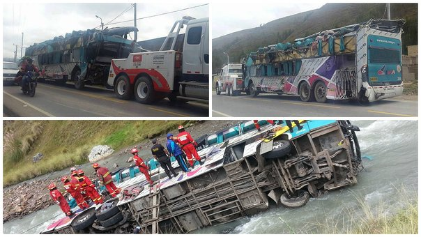 Sutran suspende bus de Civa que se accidentó en Cusco e inhabilita a conductores