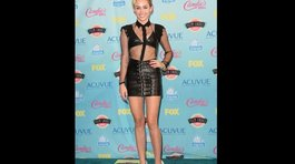 Teen Choice Awards 2013: Miley Cyrus y su look 'dominatrix'