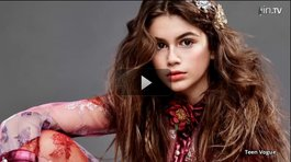 ​VIDEO: Hija de Cindy Crawford posa para Teen Vogue
