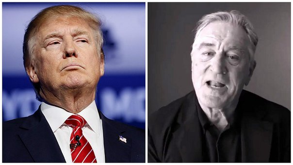 "Robert De Niro a Donald Trump: ""Es descaradamente estúpido y un estafador"" (VIDEO)"