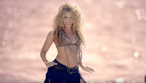 YouTube: Shakira calienta las redes sociales con sexy baile (VIDEO)