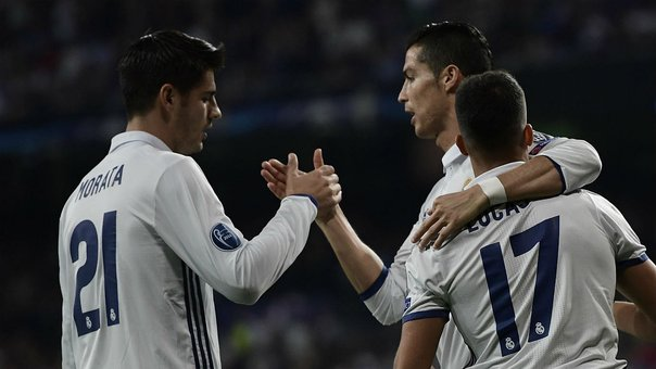 Champions League: Real Madrid aplastó 5-1 al Legia Varsovia