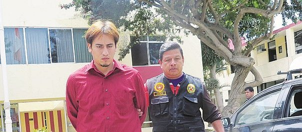 Trujillo: Capturan a avezado extorsionador