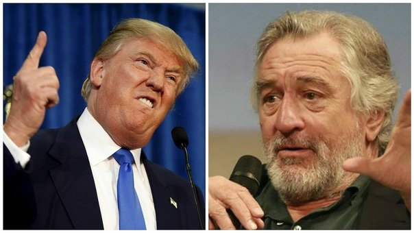 ​YouTube: Robert De Niro lamenta no haber golpeado antes a Donald Trump