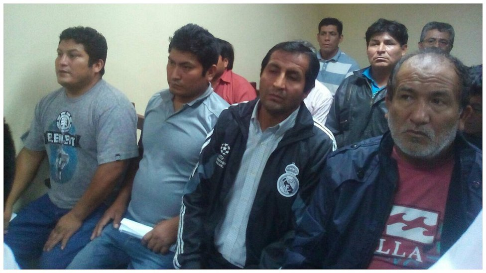 "Chiclayo: Inicia audiencia de prisión preventiva para ""La Hermandad"" (Video y fotos)"