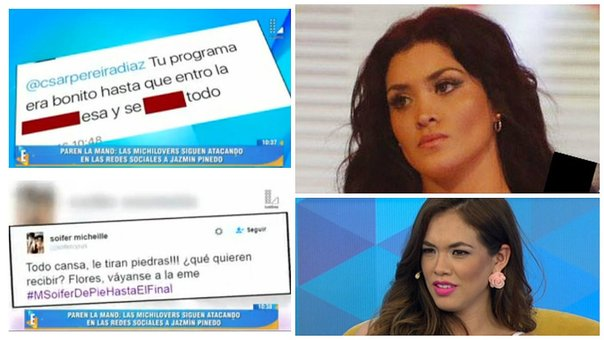 Michelle Soifer: 'Michilovers' arremeten contra conductores de Latina (VIDEO)