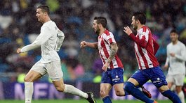 Real Madrid vence 2-1 al Sporting de Gijón