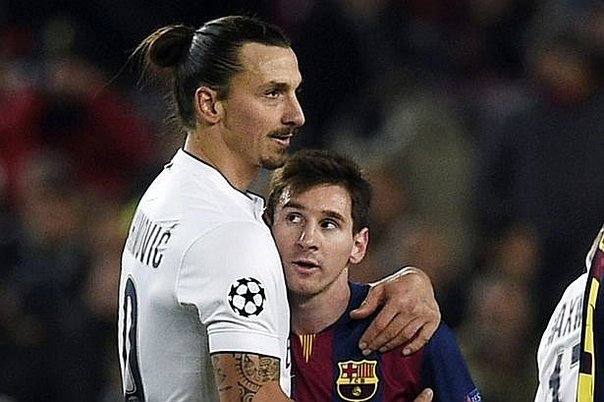 "Zlatan Ibrahimovic: ""Ver a Messi es como jugar PlayStation"" (VIDEOS)"