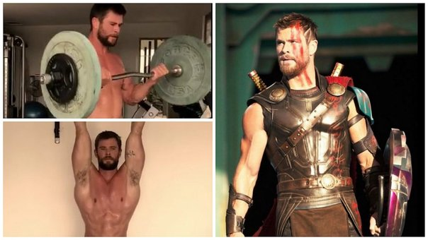 ​Chris Hemsworth: su salvaje entrenamiento para convertirse en Thor (VIDEO)