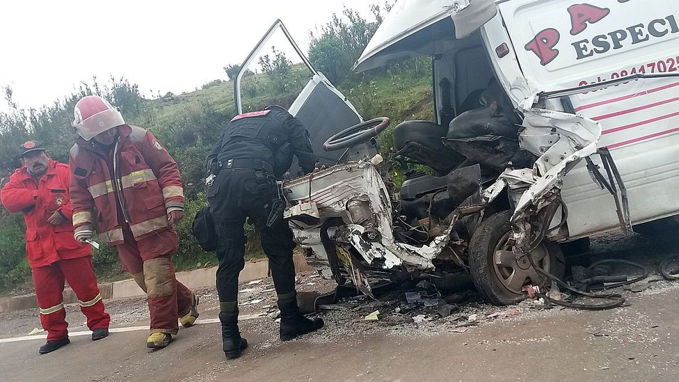 Terrible accidente en la vía Cusco - Valle Sagrado de Los Incas (FOTOS)