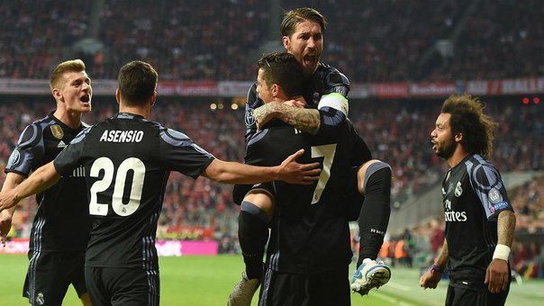 Champions League: Real Madrid derrotó 2-1 al Bayern Munich en Alemania