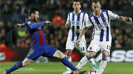 Messi mantiene con vida al Barcelona que venció 3-2 al Real Sociedad (VIDEO)