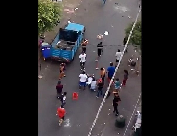 La Victoria: Reportan disturbios en Gamarra (VIDEO)