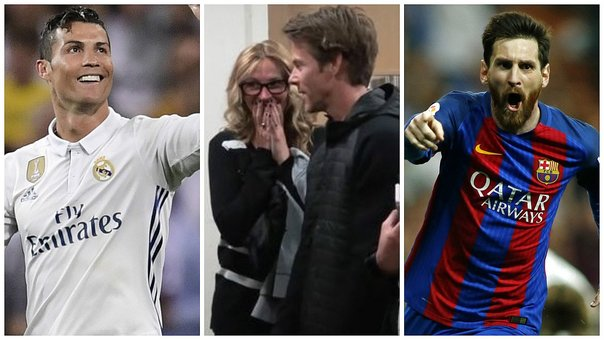 ​Julia Roberts y su reacción al conocer a Lionel Messi y Cristiano Ronaldo (VIDEO)