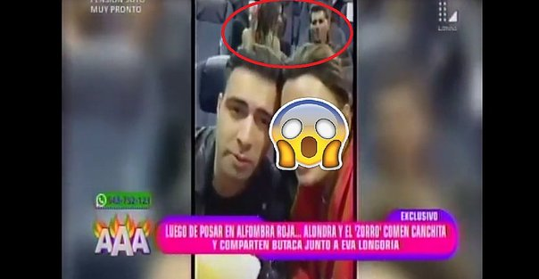 ​Alondra García Miró y Christian Meier: conocida figura de Hollywood los capta así por error (VIDEO)