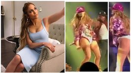 "Jennifer Lopez bailó ""Twerking"" en pleno concierto y remeció Instagram [VIDEO]"