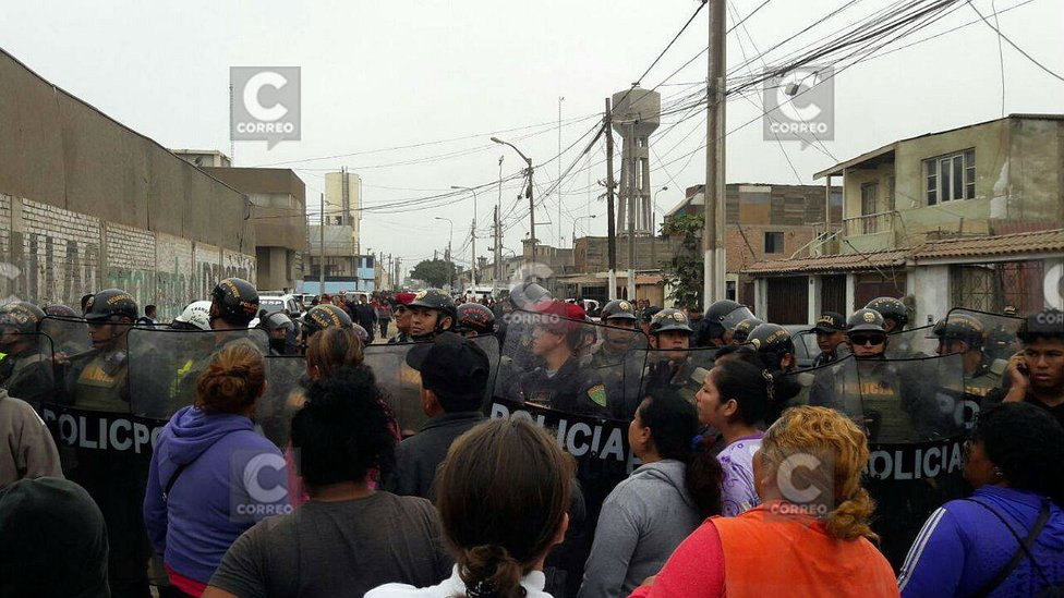 Confirman un muerto en motín en penal Sarita Colonia [FOTOS y VIDEO]