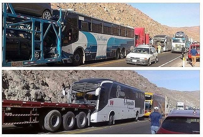Christian Domínguez: Bus de la Gran Orquesta Internacional sufrió accidente (FOTOS Y VIDEO)