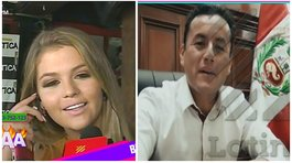 Brunella Horna: la captan con congresista Richard Acuña y ahora sale comunicado (VIDEO y FOTO)