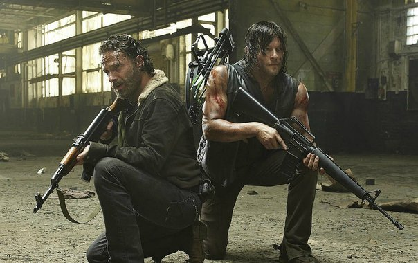 El adelanto de The Walking Dead anuncia una guerra