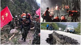China: Terremoto de 6.5 grados causó 19 muertos en Sichuan (VIDEO y FOTOS)
