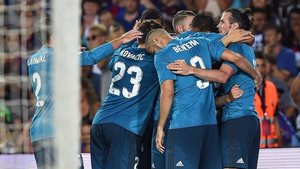 Real Madrid derrotó 3-1 a Barcelona y acaricia la Supercopa (VIDEO)