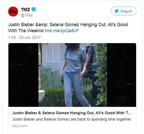 ¿Selena dejó a The Weekend por Justin Bieber?