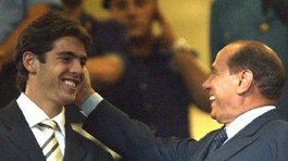"Berlusconi ""optimista"" ante posible regreso de Kaká al Milan"