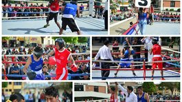 Box al aire libre en Huancayo (VIDEO)