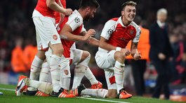 Champions League: Arsenal venció 2-0 al Bayern Munich y sigue vivo