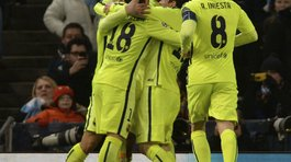 Champions League: Barcelona derrotó 2-1 al Manchester City