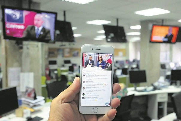 Correo introduce en Facebook Live a la TV peruana en vivo