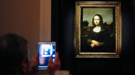 "Descubren un retrato escondido bajo la ""Mona Lisa"""