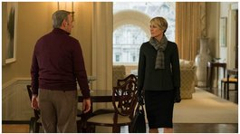 "House of Cards: ""Claire Underwood"" peléo por recibir el mismo sueldo de Kevin Spacey"