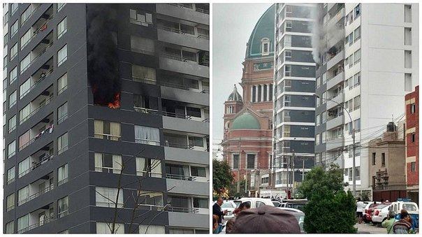 ​Incendio consume parte de un edificio en Magdalena (VIDEO)