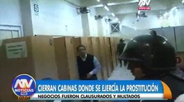 ​Intervienen cabinas de internet donde se ejercía la prostitución (VIDEO)