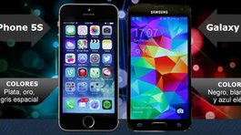 ¿iPhone 5S de Apple o Samsung Galaxy S5?