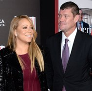 La estrella del pop Mariah Carey se compromete con el magnate australiano James Packer
