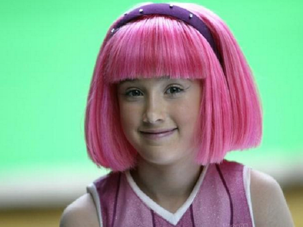 Lazy Town as luce la tierna Stephanie a sus 24 aos de edad