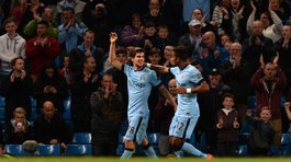 Manchester City aplastó 7-0 al débil Sheffield Wednesday por la Capital One Cup