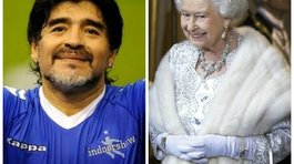 Maradona presidirá ONG 'Football For Unity' a pedido de Reina Isabel II (VIDEO)