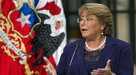 Michelle Bachelet propone que educación superior sea gratuita (VIDEO)