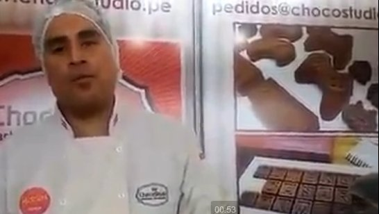 Mistura 2015: Ofrecen chocolates con formas de personajes de Star Wars (VIDEO)