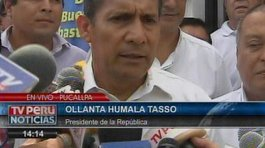 "Ollanta Humala pide al ""honorable Congreso"" dar facultades especiales a Cateriano"