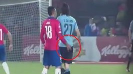 ¿Qué dijo Edinson Cavani tras incidente con Gonzala Jara? (VIDEO)