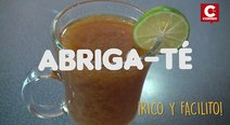​Rico y facilito: Abriga-Té la receta ideal para este frío (VIDEO)